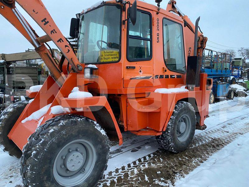 Buldoexcavator Schaeff SKB2000