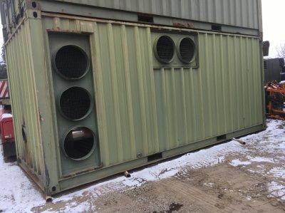 Container încălzire industrială
