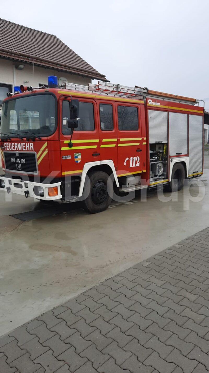 Autoutilitară stingere incendii MAN 12.222